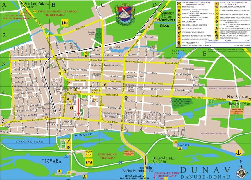mapa backa palanka 14 mapa backa palanka